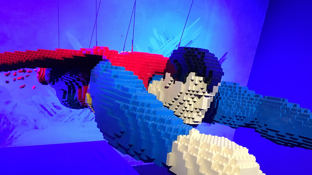 Superman in versione Lego