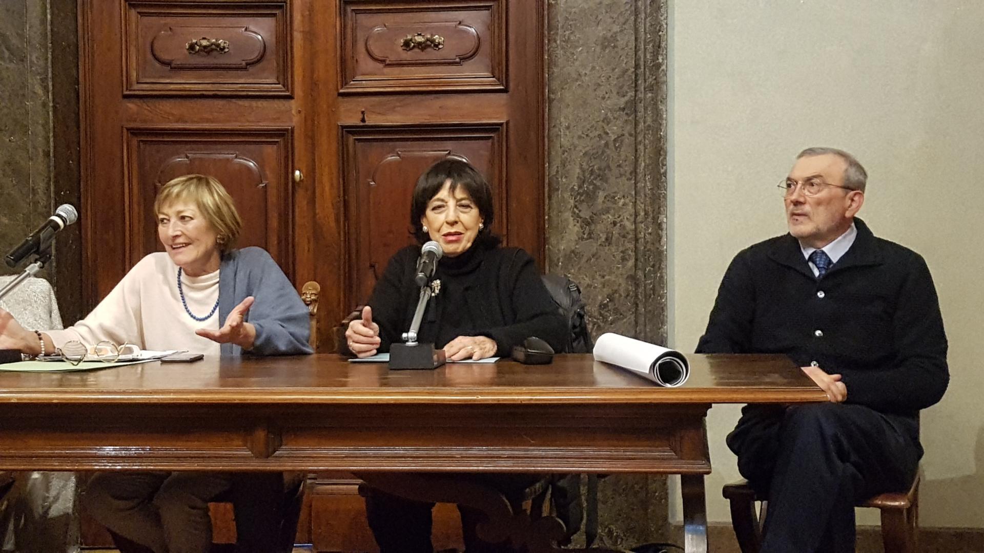 Presentazione del concerto di Pasqua su Rai Uno a Palazzo Donini