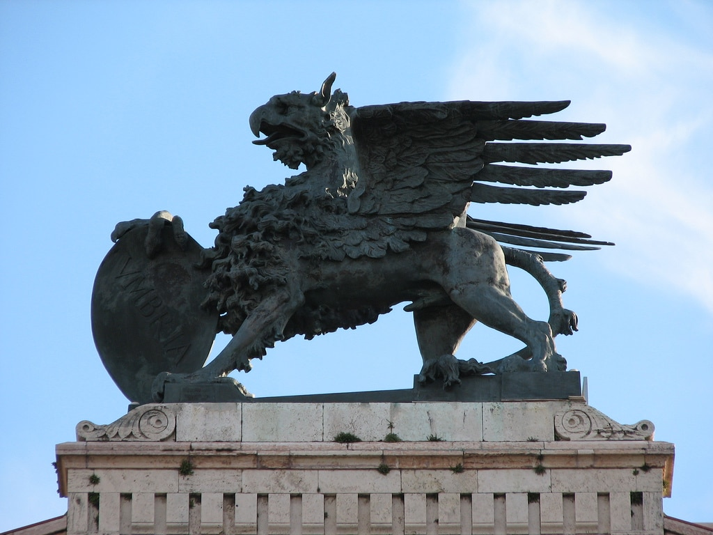 Il grifone di Perugia