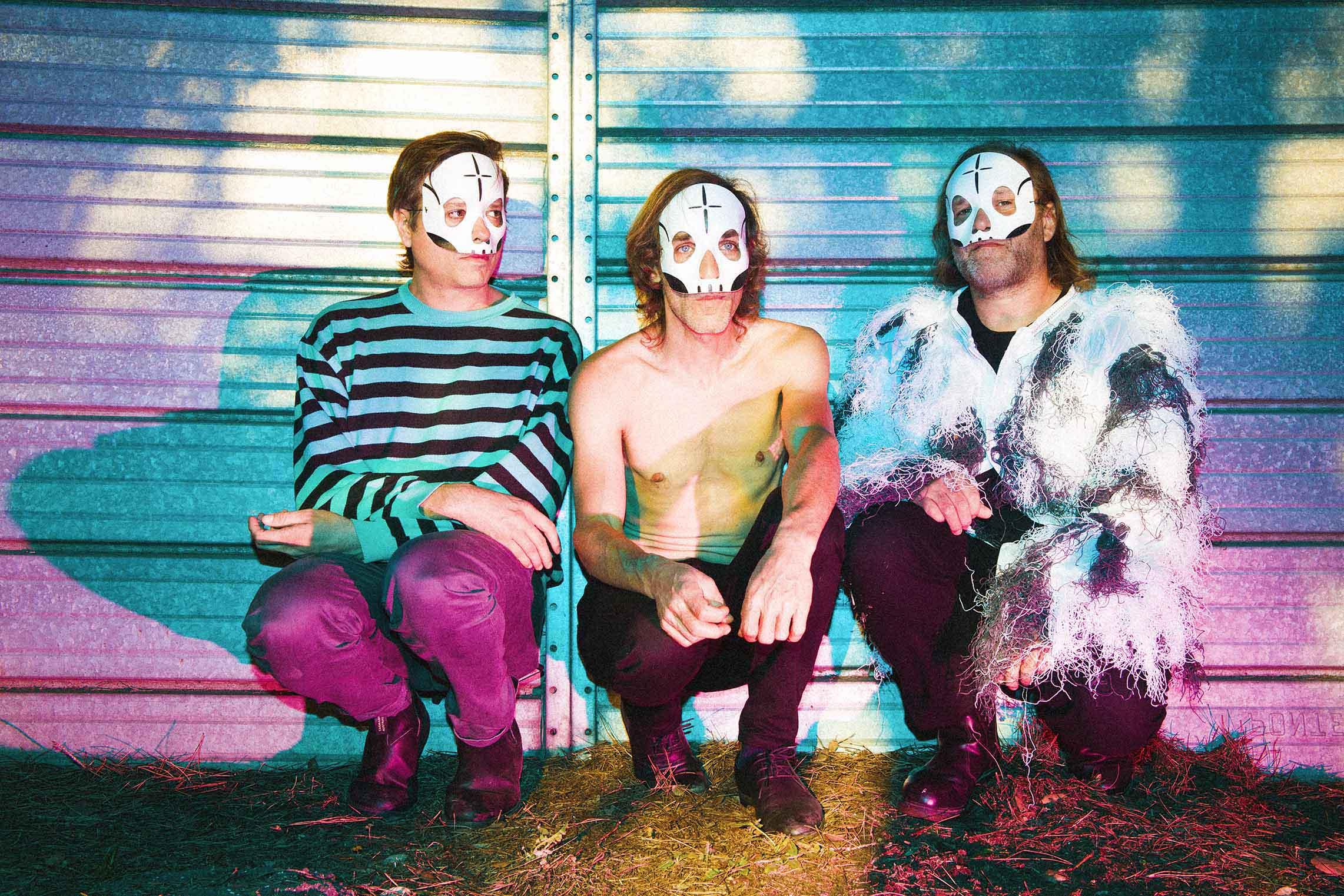 """Il gruppo rock dei """"Tre Allegri ragazzi Morti"""""""