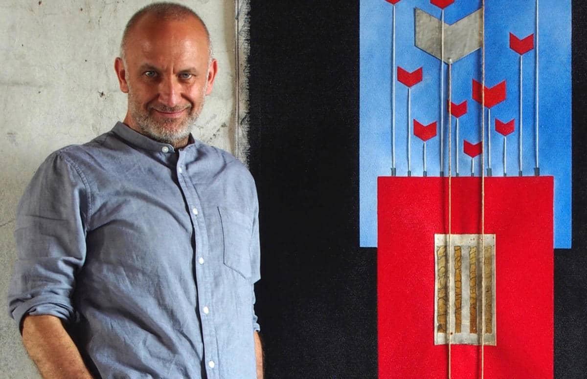 L'artista folignate Andrea Pinchi