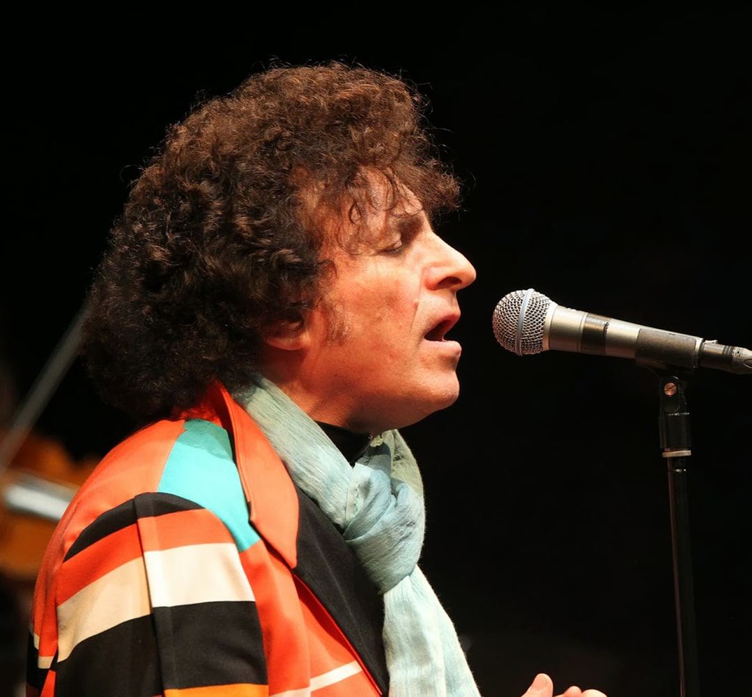 Bernardo Lanzetti della PFM
