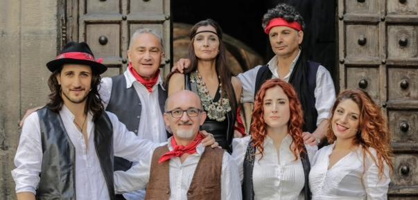 """Il cast del musical """"Musicanti"""""""