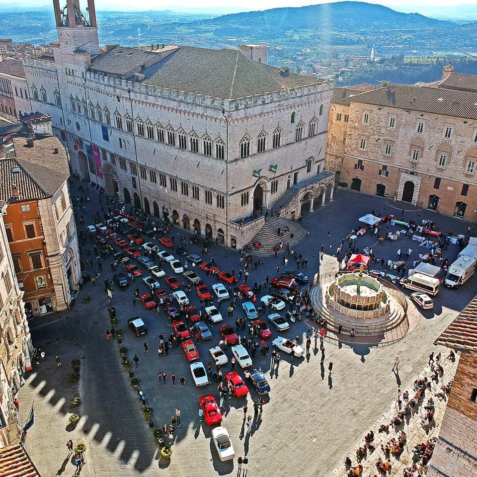 Perugia storica 2019 - Piazza IV Novembre- Umbria