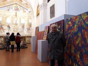 il pittore Sergio Sani