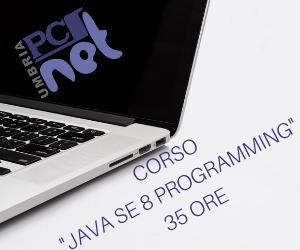 Banner PCSNet Umbria Corso Java