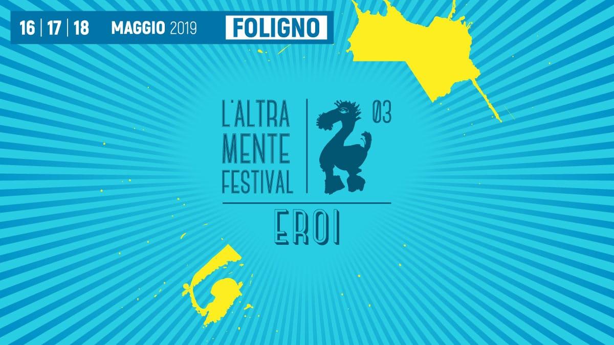 """La locandina dell'edizione 2019 de """"L'altra Mente Festival"""""""