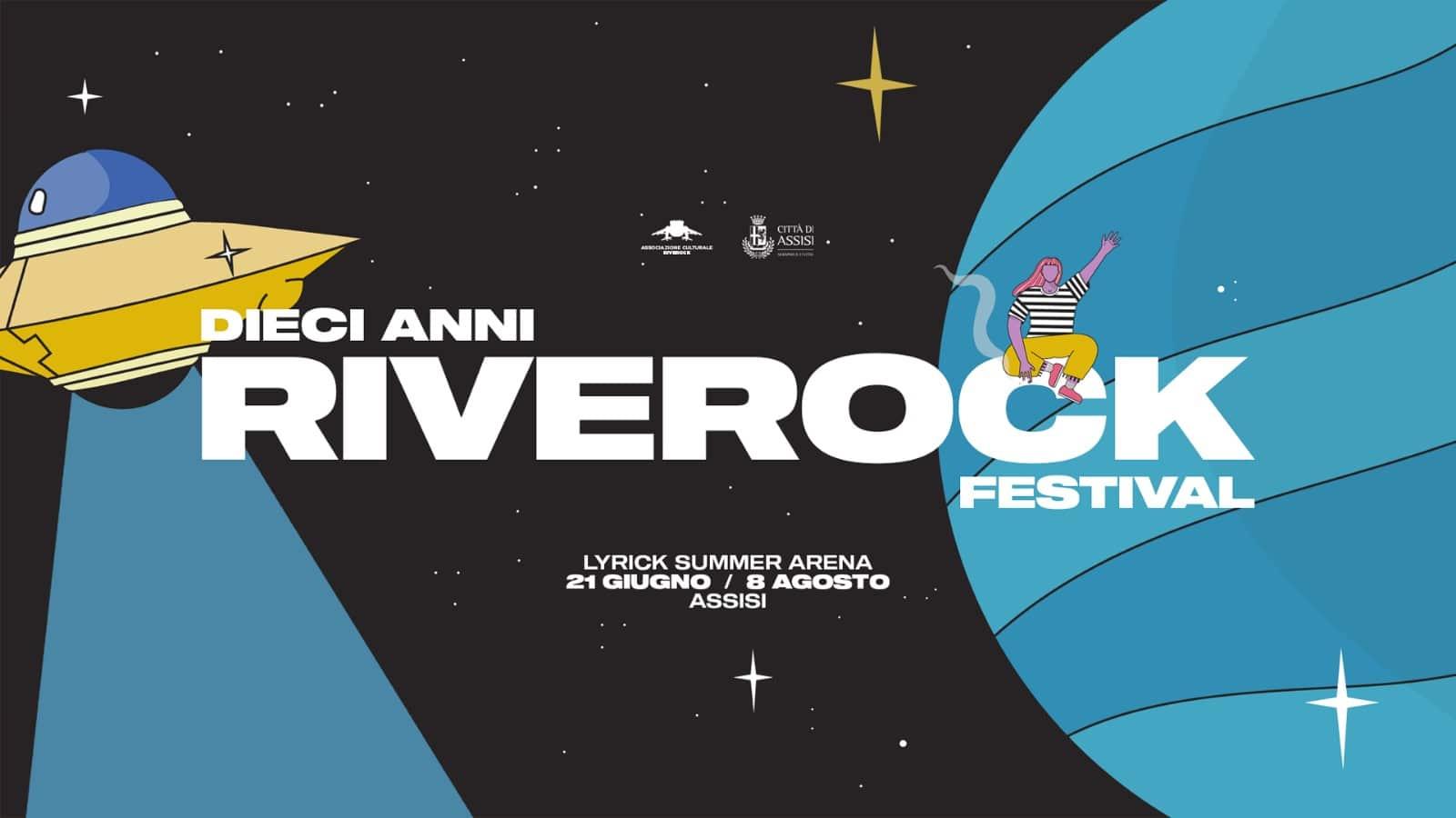 nella fotografia la locandina del riverock festival 2019