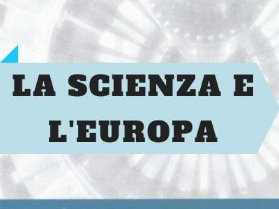 copertina del libro la scienza e l'Europa