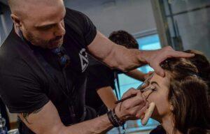 Make up artist Graziano Giommaroni