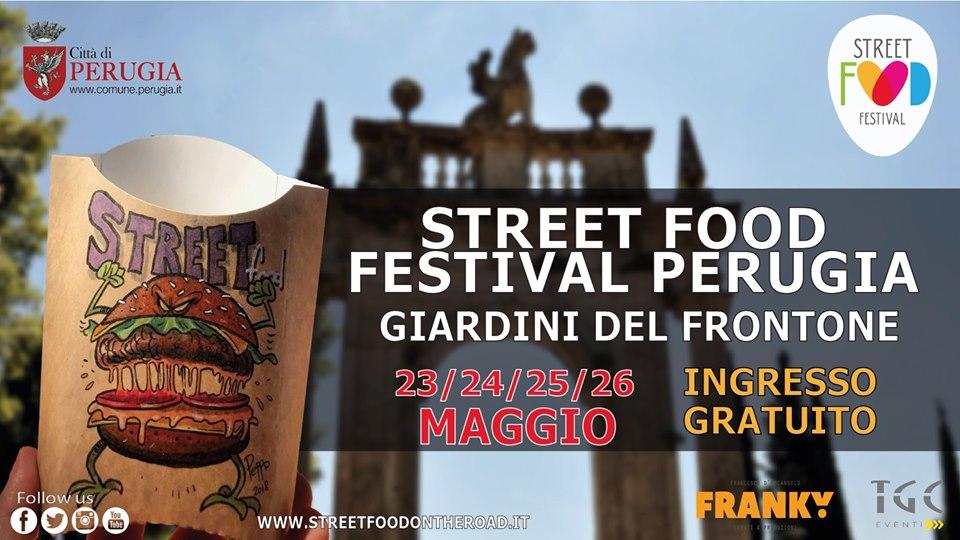 locandina street food festival perugia 2019