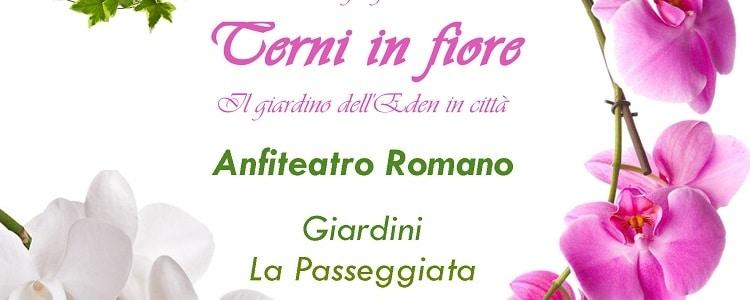 locandina Terni in fiore 2019