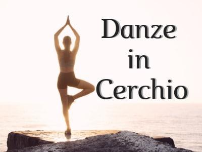 locandina dell'incontro di meditazione Danze in cerchio a Villa Urbani a Perugia