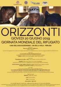 Programma 20 giugno Perugia per Giornata mondiale del Rifugiato