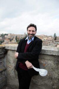 Il regista teatrale Roberto Biselli