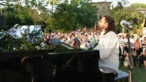 Il pianista Alessandro Deledda