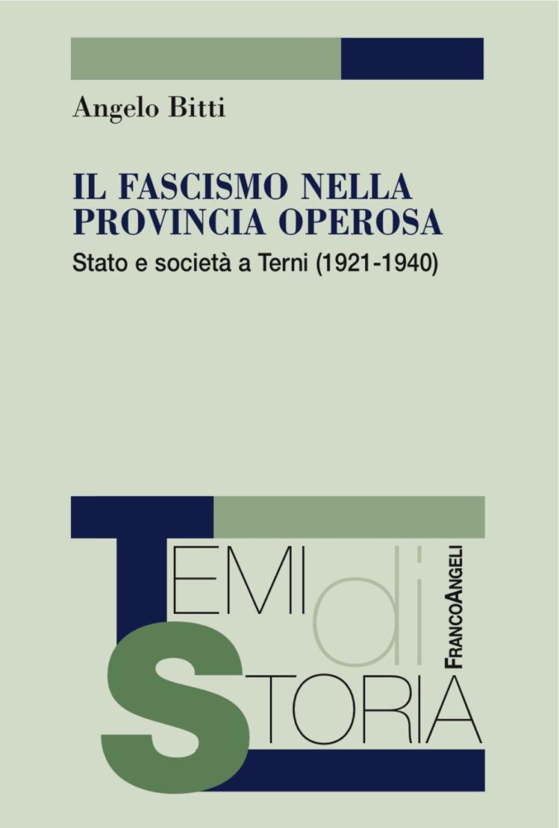 copertina del libro il fascismo nella provincia operosa