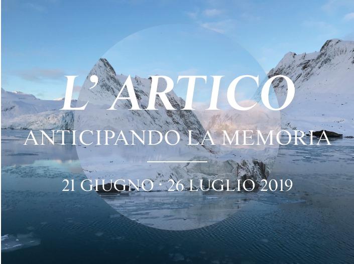 locandina della mostra L'Artico - Anticipando la memoria a Montefalco