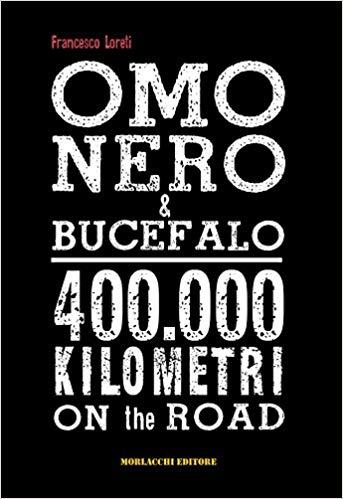 """copertina del libro """"Omo nero e Bucefalo"""""""