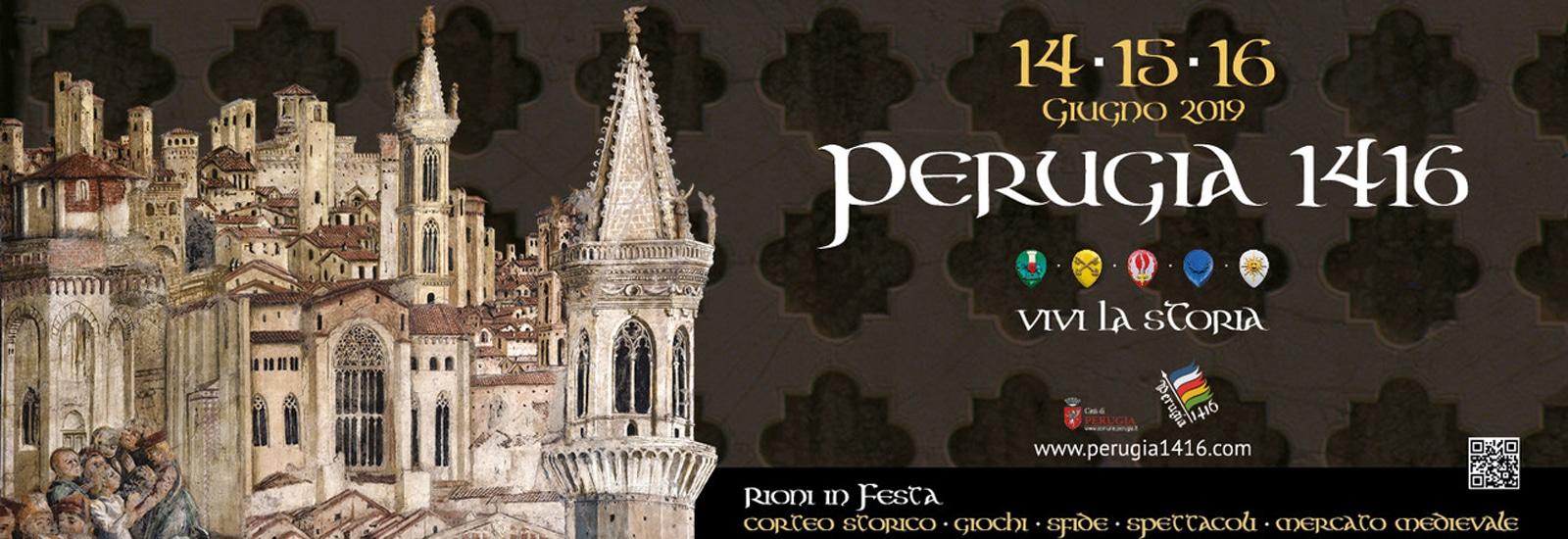 locandina della quarta edizione di Perugia 1416