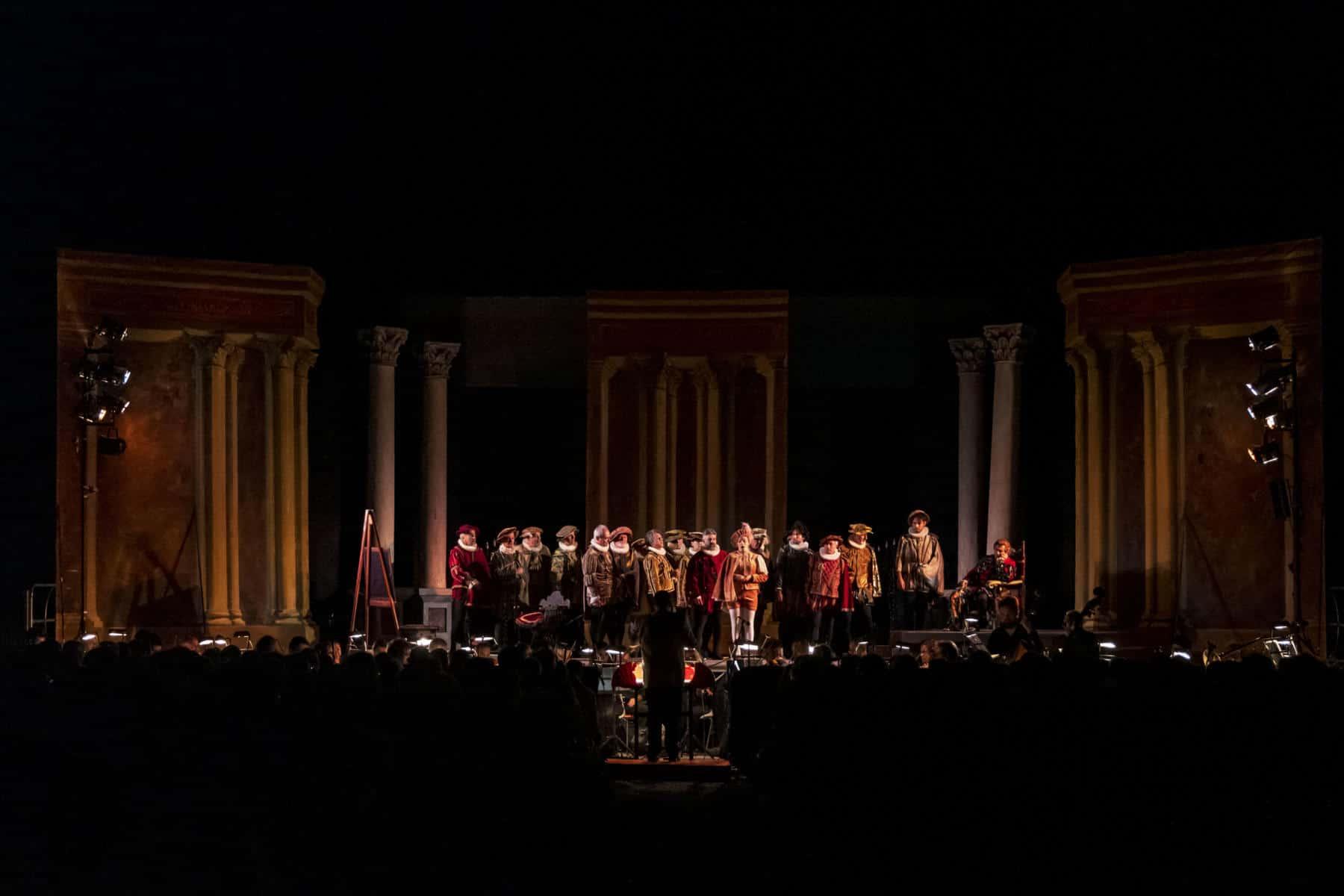 """Ai Giardini del Frontone è andato in scena il """"Rigoletto"""" di Giuseppe Verdi"""
