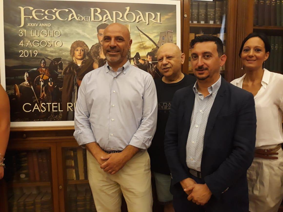 La presentazione della Festa dei Barbari a Castel Rigone