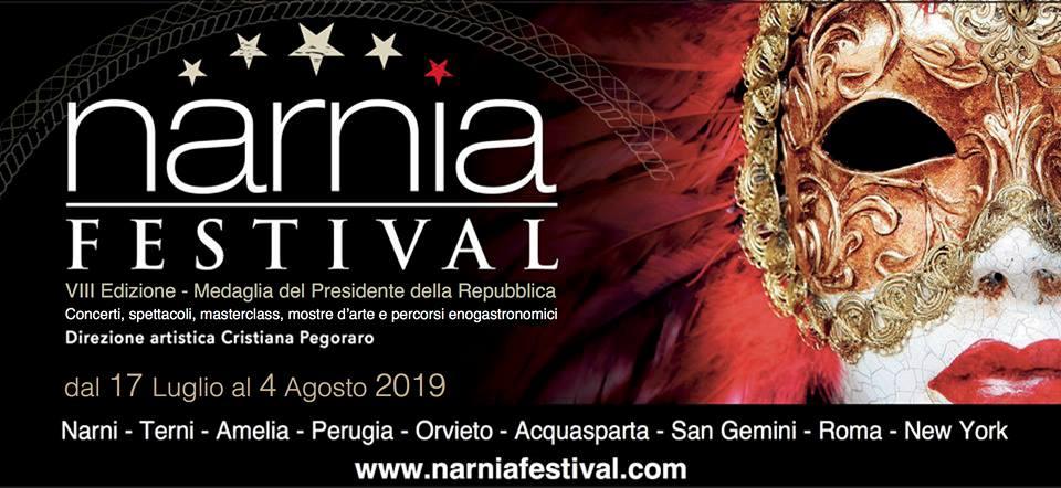 locandina del narnia festival 2019