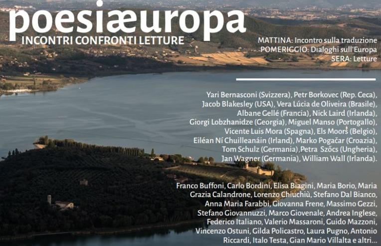 locandina poesia e cultura 2019 a Isola Polvese