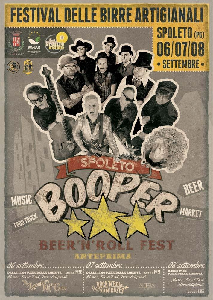 A Spoleto dal 6 all'8 settembre c'è il Festival delle Birre Artigianali