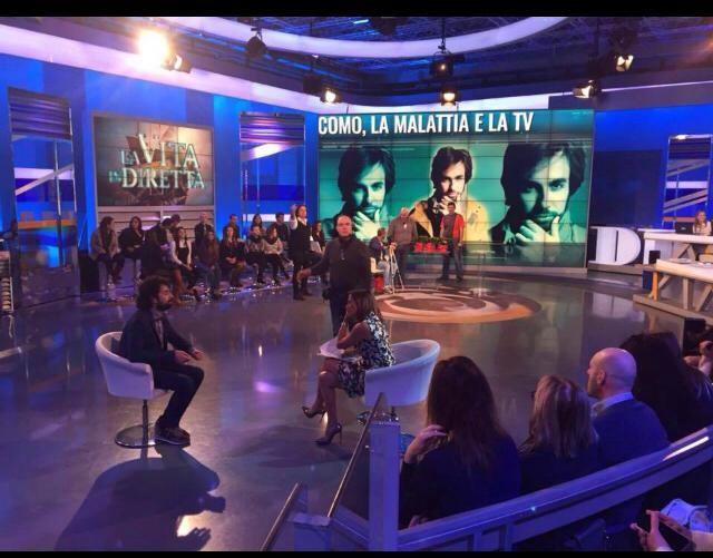 Giacomo Innocenzi, la sua vita tra la sclerosi multipla ed il suo talk show