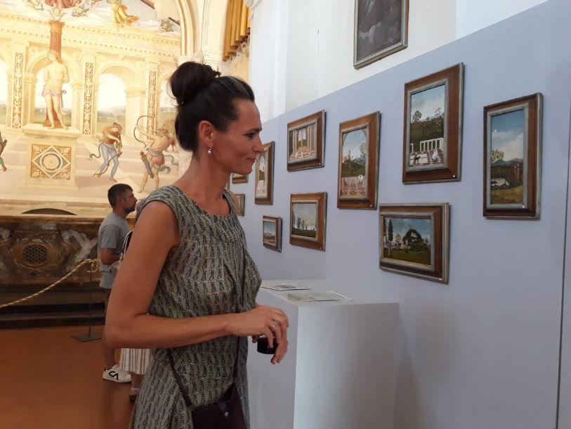 immagine della mostra Paesaggi d'Umbria e Toscana a Panicale