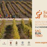 locandina della prima edizione di Sagrantino Running novembre 2019
