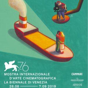 Locandina 76 mostra internazionale cinema Venezia