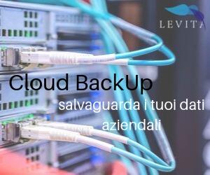 Banner Cloud BackUp - Levita