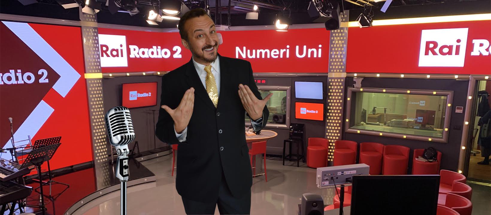 Mauro Casciari tra radio, televisione, web e sogni nel cassetto