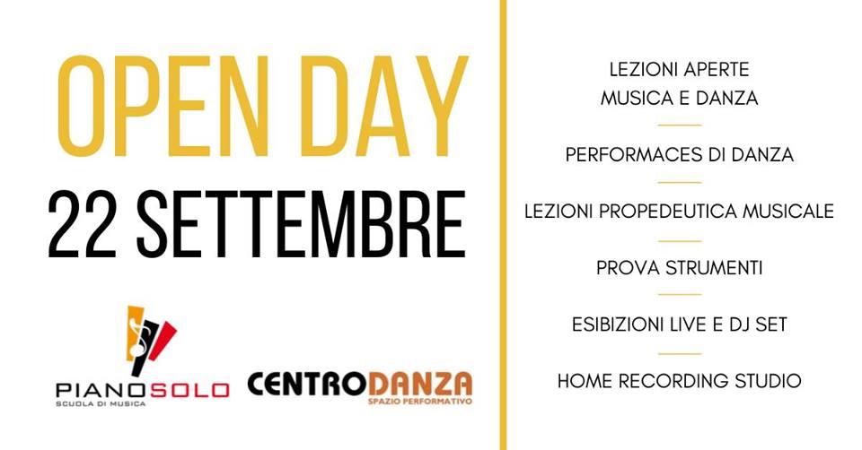 locandina open day 2019Centrodanza Scuola Piano Solo