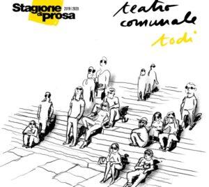 locandina stagione 2019/2020 del teatro Comunale di Todi