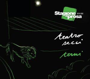 locandina stagione 2019/2020 TSU al Teatro Secci di Terni