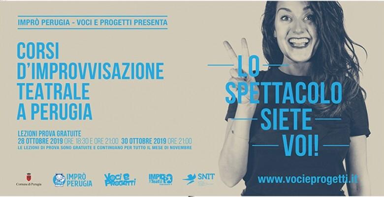 A Perugia ripartono i Corsi di improvvisazione teatrale