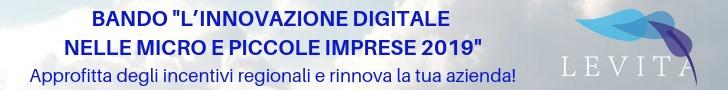 Bando Innovazione Digitale Micro Piccole Imprese