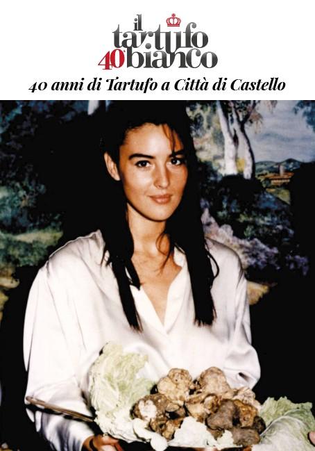 Monica Bellucci immagine dalla Mostra del Tartufo bianco di Città di Castello