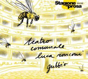 locandina stagione 2019 2020 TSU teatro Ronconi di Gubbio