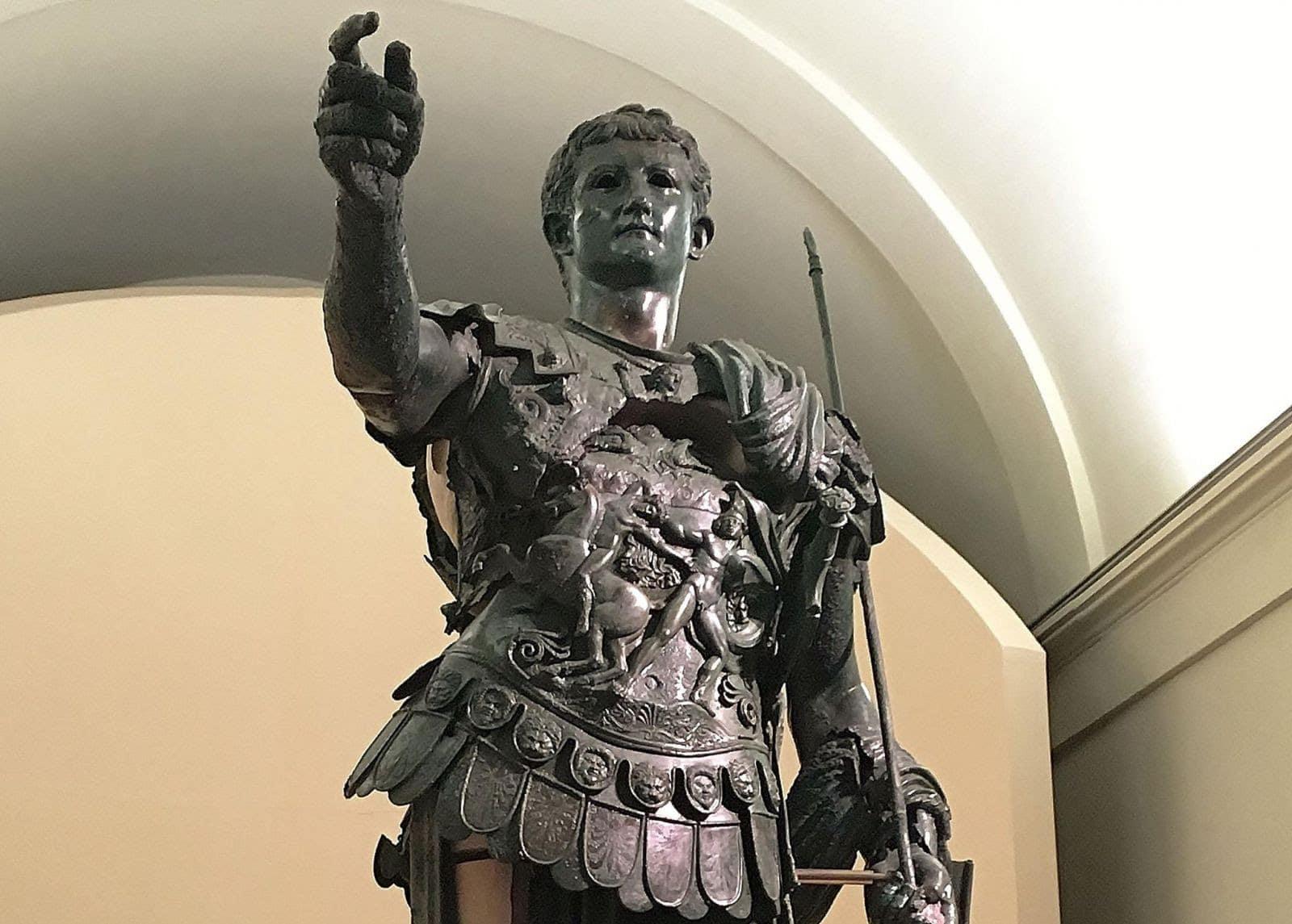 Amelia, apre la mostra-installazione Germanico Cesare