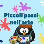 locandina Piccoli passi nell'arte alla biblioteca villa urbani