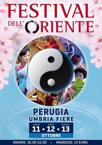 locandina Festival dell'Oriente 2019 Perugia