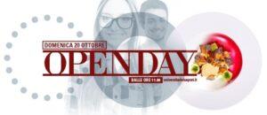 locandina open day università dei sapori 2019