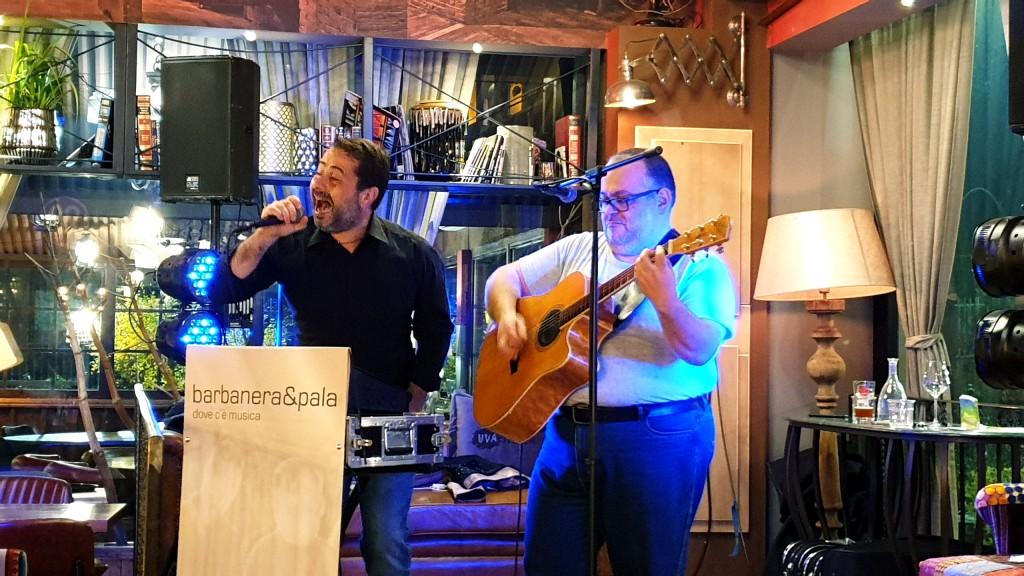 Barbanera&Pala, oltre due ore di grande musica italiana ed internazionale