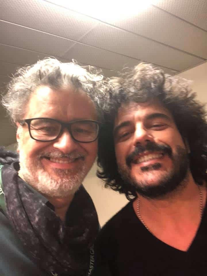 L'hair stylist Gianni Marcantonini alla serata di stelle per il Bambino Gesù