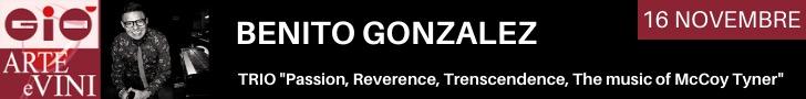 Gio Jazz Hotel Arte e Vini Benito Gonzalez