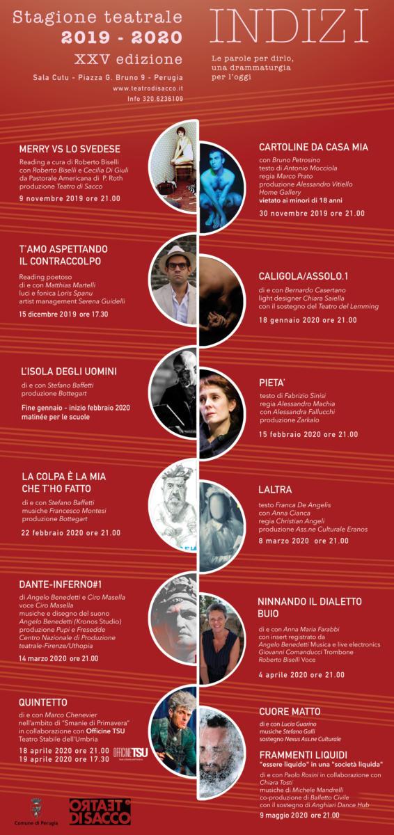 Indizi - stagione teatrale del Teatro di Sacco